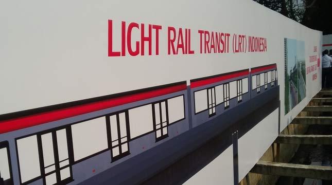 Pembangunan LRT (Ist)