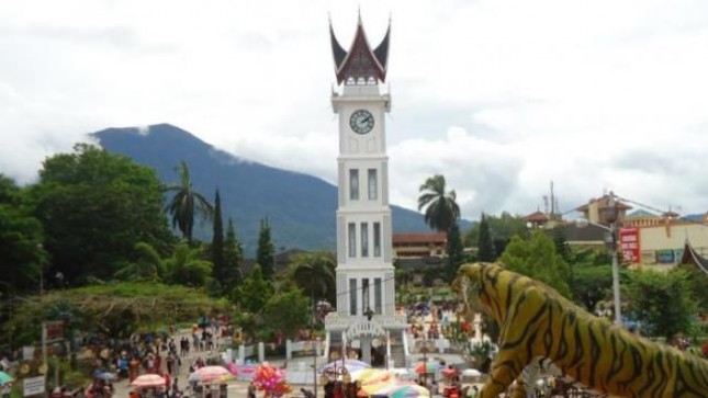 Kota Bukittinggi Sumatera Barat (Foto Tribunnews)