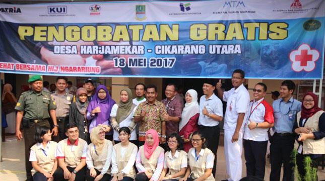 Jababeka Bersama Tenant Berikan 250 Kupon Pengobatan Gratis Kepada Warga Cikarang (Foto:thepresidentpost)