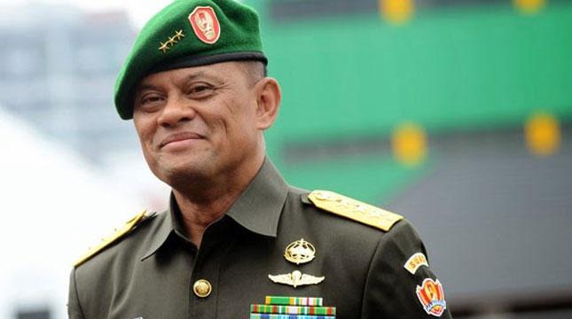 Jenderal TNI Gatot Nurmantyo (Ist)