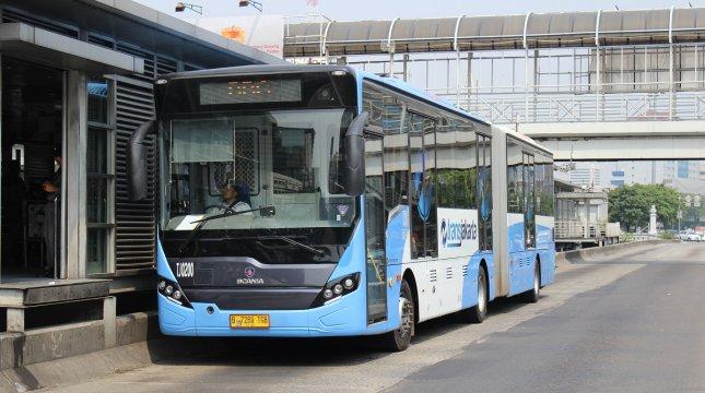 Bus Transjakarta. (Foto: Transjakarta.co.id)