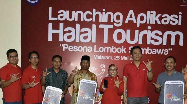 NTB Luncurkan Aplikasi Halal Tourism Pesona Lombok