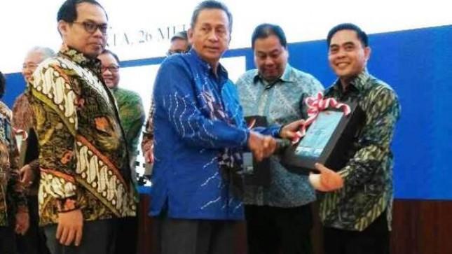 Kementerian Perindustrian kembali meraih opini Wajar Tanpa Pengecualian (WTP) dari Badan Pemeriksa Keuangan (BPK)