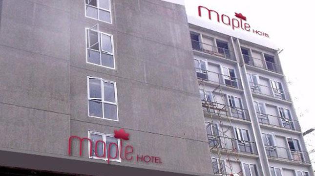 Maple Hotel (Foto: twitter.com/maplehoteljkt)
