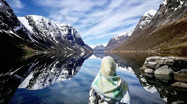 Ilustrasi Traveler Muslim (alea515_ /Instagram/havehalalwilltravel)