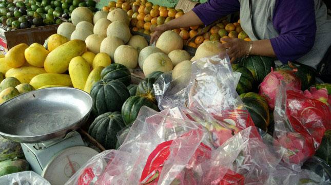 Ilustrasi Makanan Sehat, Buah dan Sayur-sayuran (Chodijah Febriyani/Industry.co.id)