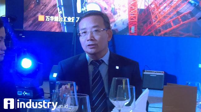 President XCMG Asia Pasific, Hu Xiangyang (Hariyanto/ INDUSTRY.co.id)
