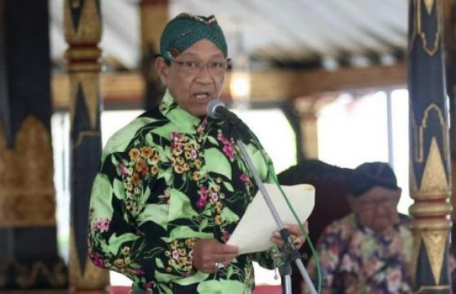 Gubernur Daerah Istimewa Yogyakarta Sultan Hamengku Buwono X (Foto Ist)