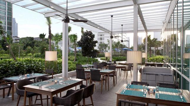 Restoran Jardino di Fraser Place, Setiabudi