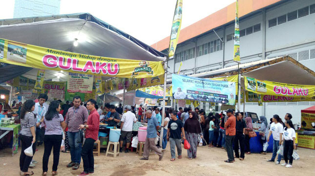 Pasar Bendungan Hilir (Benhil), Tanah Abang, Jakarta Pusat (Chodijah Febriyani/Industry.co.id)