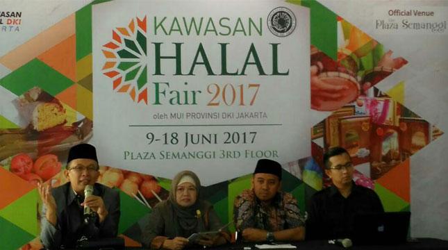 Majelis Ulama Indonesia (MUI) DKI Jakarta Menggelar Kawasan Halal Fair 2017, Menjadikan Jakarta Sebagai Destinasi Wisata Halal