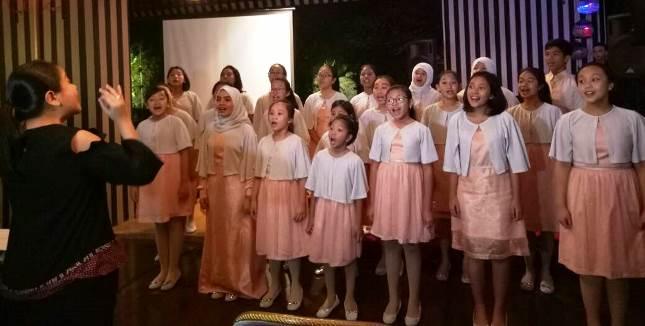 Purwa Caraka Music Studio Childrens Choirs yang Akan Tampil di Carnegie Hall, New York, Minggu depan