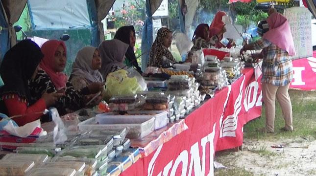 Ilustrasi Pasar Ramadan di Kabupaten Penajam Paser Utara (Foto:helloborneo.com)