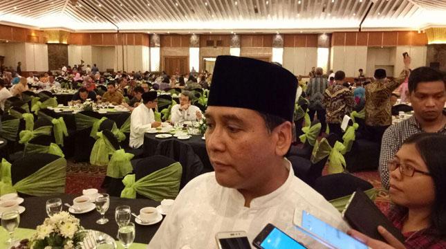Ketua Umum Persatuan Hotel dan Restoran Indonesia (PHRI) Hariyadi Sukamdani (Chodijah Febriyani/INDUSTRY.co.id)