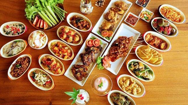Kuliner di Reunionhouse, Bandung (kulinerbandung/Instagram)