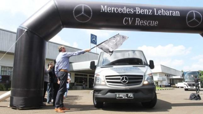 Mercedes-Benz Indonesia kembali menggelar Lebaran Rescue 2017