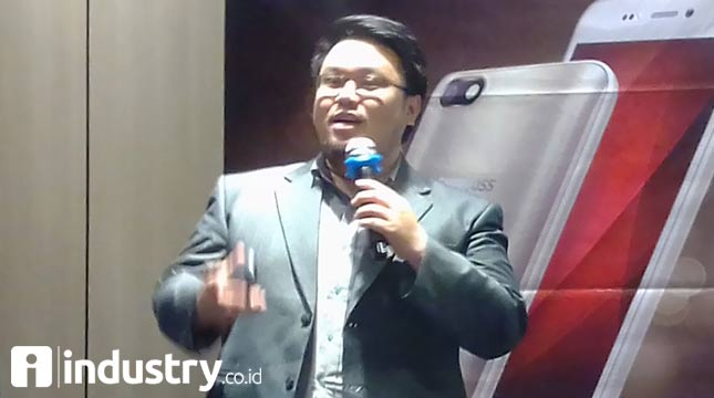Suryadi Willim, Head of Marcomm Evercoss (Hariyanto/ INDUSTRY.co.id)