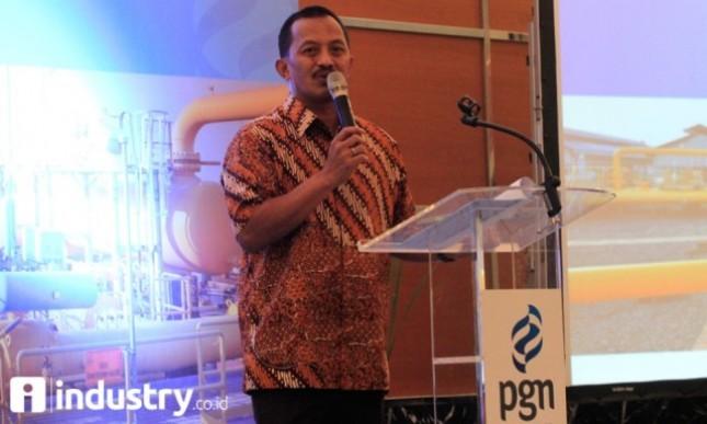 Direktur Utama PGN Jobi Triananda Hasjim (Foto:Industry.co.id)