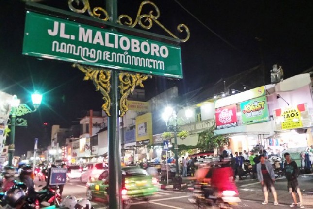 JLn Malioboro Yogyakarta (Foto Ist)