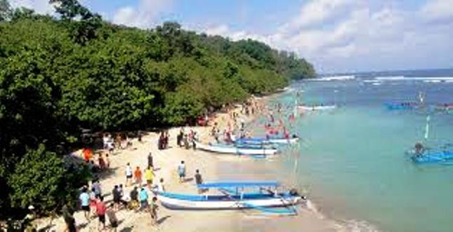Pantai Pangandaran Sukabumi (Foto Ist)