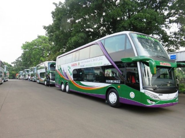 Lorena Operasikan Bis Tingkat untuk Boutique Mass Transportation (Foto Ist)