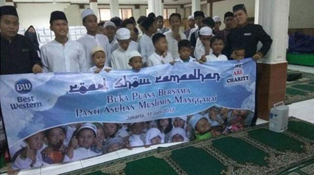 Best Western Selenggarakan Buka Bersama Dengan 100 Anak Yatim (Ist)