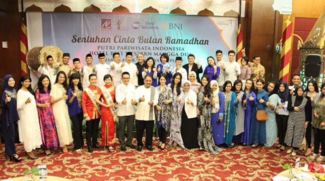 Best Western Gelar 'Sentuhan Cinta Bulan Ramadhan bersama 100 Anak Yatim' (Ist)