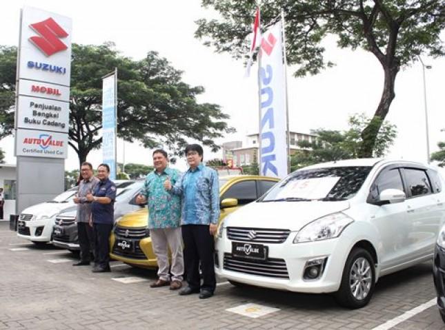 PT. Suzuki Indomobil Sales selaku ATPM Suzuki (Foto Rizki Meirino)