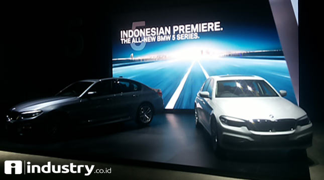 BMW 5 Series (Ridwan/INDUSTRY.co.id)