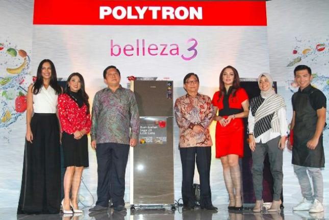 Polytron Kenalkan Produk Lemari es Terbaru Belleza 3