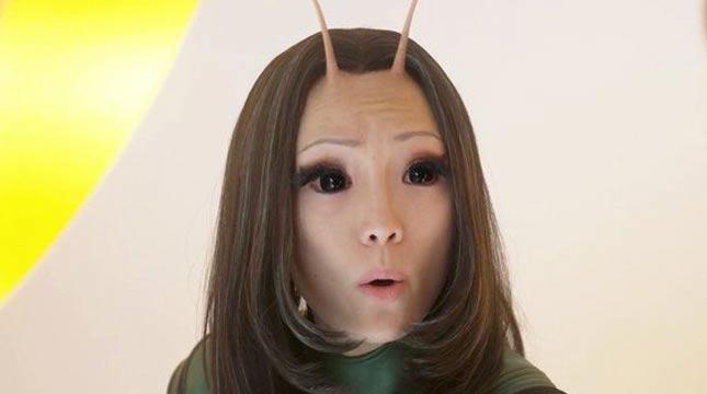 Mantis di perankan oleh Pom Klementieff