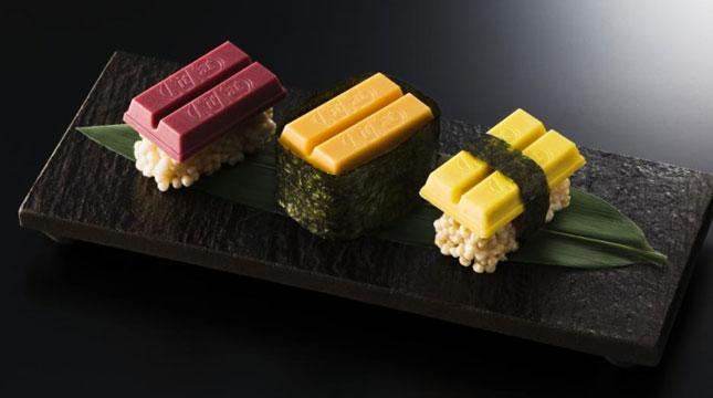 Sushi Kit Kat (Foto:http://www.delish.com)
