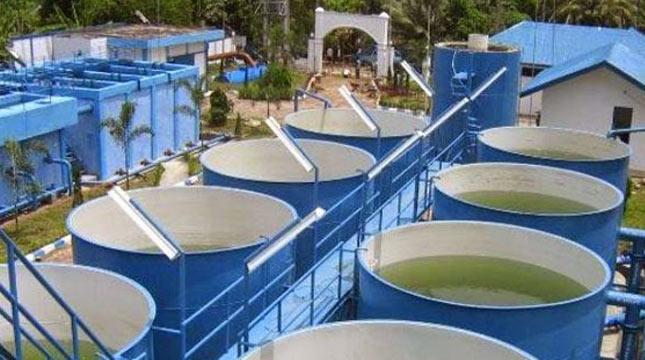 Ilustrasi sistem penyediaan air minum (SPAM)
