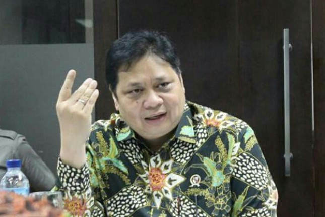 Menteri Perindusterian Airlangga Hartarto
