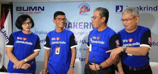 Diding S. Anwar: Kinerja Perum Jamkrindo Cukup Baik Semester I 2017 (Foto Rizki Meirino)