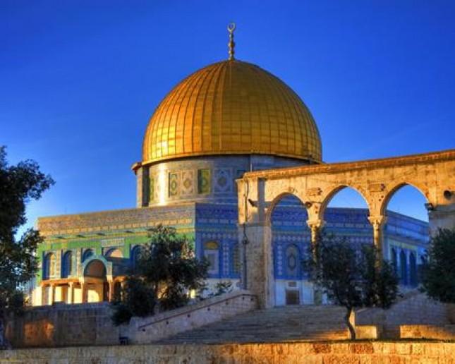 Masjid Al-Aqsa Palestina (Foto ist)