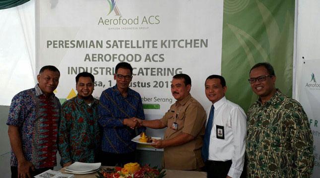 Peresmian Aerofood ACS Buka Fasilitas Dapur Baru di Cilegon (Ist)