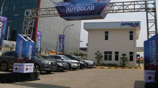 Indomobil Sompo Japan, resmi membuka bengkel perbaikan mobil di Bekasi