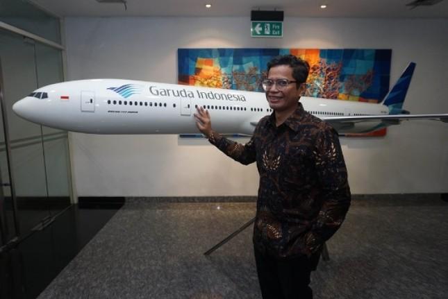 Direktur Utama Garuda Indonesia, Pahala N. Mansury. (Foto Ist)