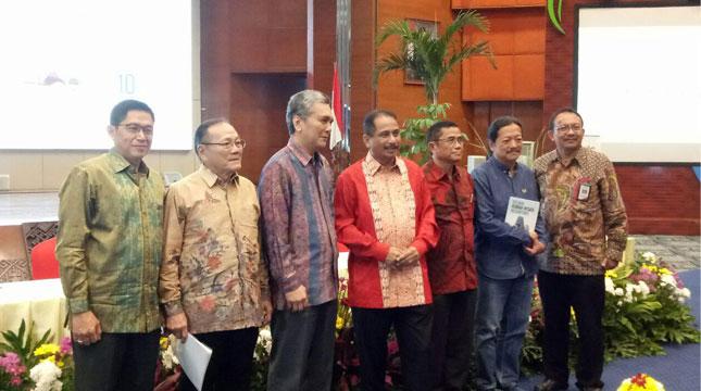 Launching Indonesia Sustainable Tourism Award (ISTA) dan Sayembara Desain Restoran Nusantara 2017 yang dilaunching di Balairung Soesilo Soedarman, Kementerian Pariwisata (Chodijah Febriyani/Industry.co.id)