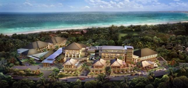 Ilustrasi Januari 2017 Movenpick Resort & Spa Jimbaran Bali Beroperasi