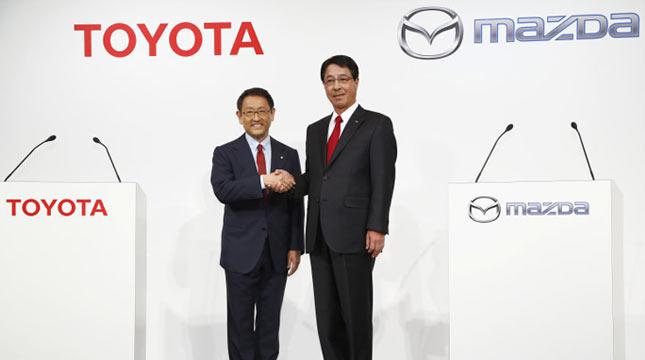 Kerjasama Toyota dan Mazda (Ist)