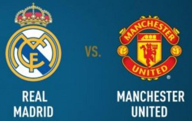 Real Madrid VS Manchester United (Foto Gilabola.com)