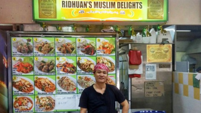 Ridhuan's Muslim Delights, Kion Makanan Halal yang Menjual Masakan Cina (Foto:vulcanpost)