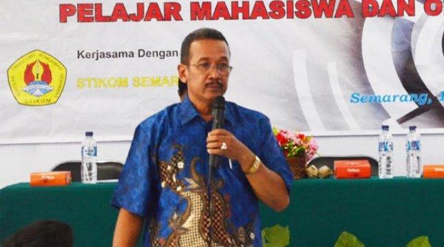Ketua Sekolah Tinggi Ilmu Komunikasi (STIKOM) Semarang, Gunawan Witjaksana. (Foto: IST)