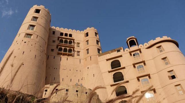 Benteng Alila Bishangarh di Segitiga Emas India di Delhi-Jaipur-Agra (Foto: CNN)