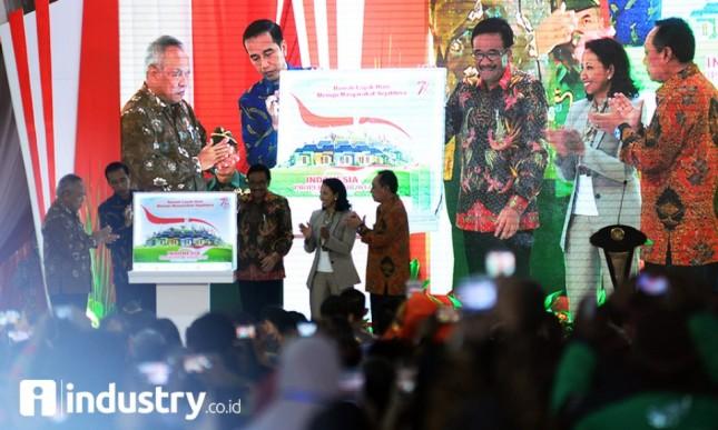 Pembukaan Indonesia Properti Expo oleh Presiden Jokowi (Dok Industry.co.id)