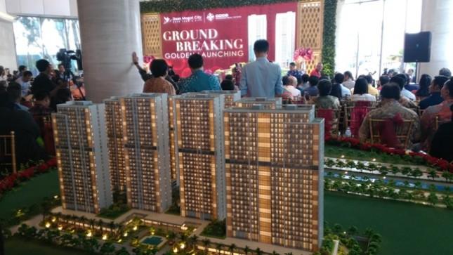 PT China Harbour Jakarta Real Estate Development melakukan proses konstruksi atau groundbreaking tower tahap empat yaitu Dove Tower yang merupakan bagian dari tower DAMOCI.
