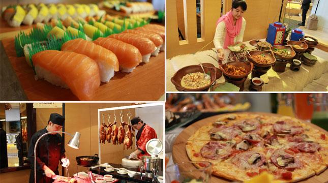 Menu Bertemakan Masakan Internasioanal di Hotel Ciputra Cibubur (Ist)