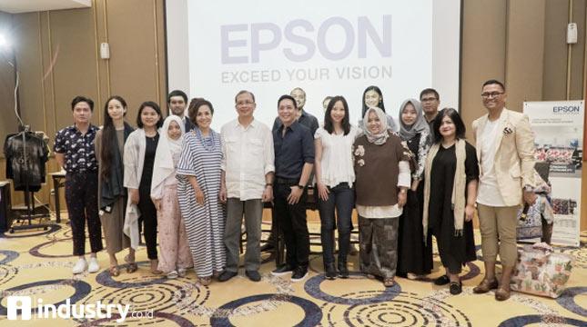 Epson Siap Dukung Perkembangan Industri Fashion dan Apparel